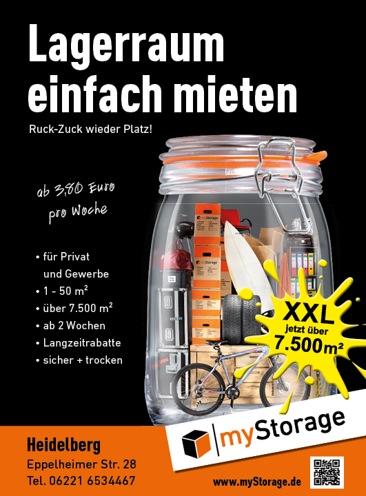 Anzeige myStorage AG