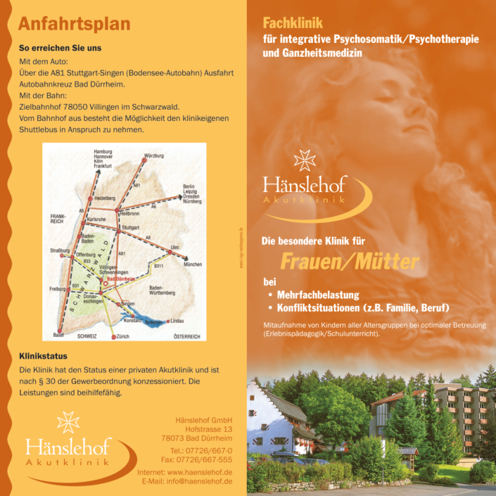 Folder Hänslehof Akutklinik