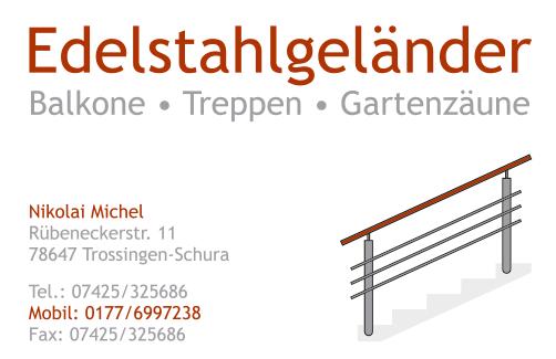 Visitenkarte Michel