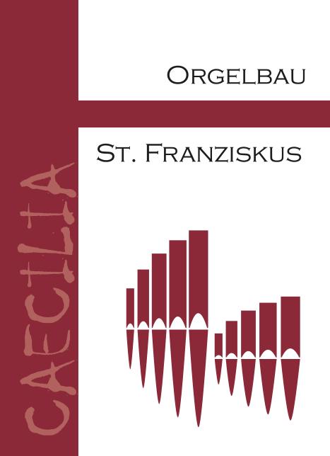 Weinetikett Orgelbau - Rotwein