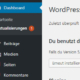 WordPress Aktualisierung Update-Zähler - Blogbild